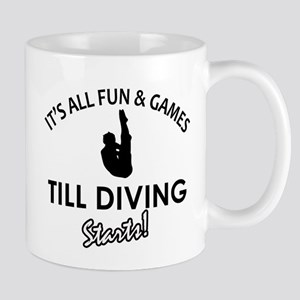 Diving gear and merchandise Mug