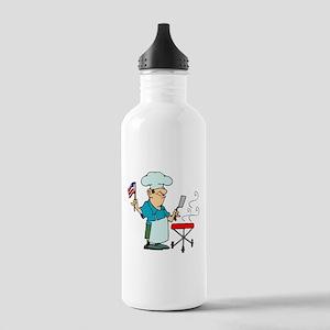 Celebration of 4th July Water Bottle