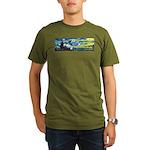 Starry Night Van Gogh Organic Men's T-Shirt