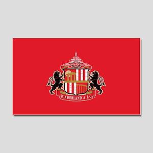 Vintage Sunderland AFC Crest Fu Car Magnet 20 x 12