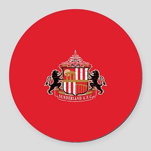 Vintage Sunderland AFC Crest Full Round Car Magnet