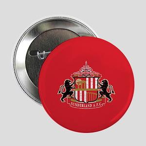 """Vintage Sunderland AFC Crest Full Ble 2.25"""" Button"""
