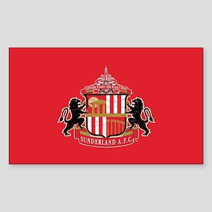 Vintage Sunderland AFC Crest F Sticker (Rectangle)