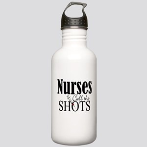 Nurses Call The Shots Stainless Water Bottle 1.0L