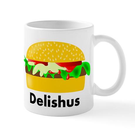 Delishus Hamburger Mug