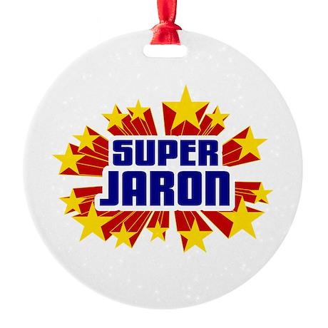 Jaron the Super Hero Ornament