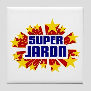 Jaron the Super Hero Tile Coaster