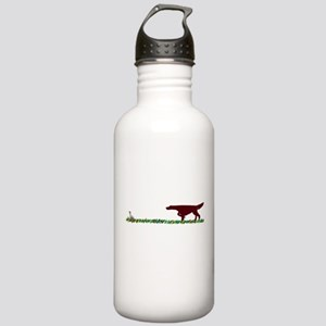 Irish Setter in the Field Stainless Water Bottle 1
