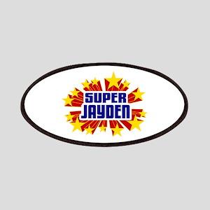 Jayden the Super Hero Patches