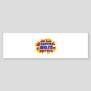 Jaylen the Super Hero Bumper Sticker