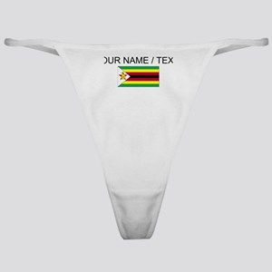 Custom Zimbabwe Flag Classic Thong