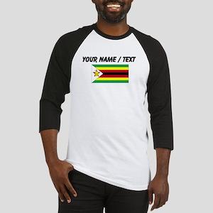 Custom Zimbabwe Flag Baseball Jersey