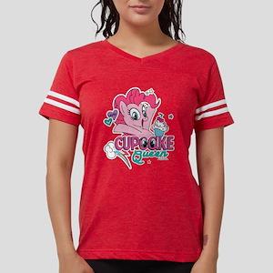 MLP Cupcake Queen Womens Football Shirt