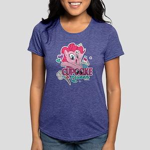 MLP Cupcake Queen Womens Tri-blend T-Shirt