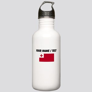 Custom Tonga Flag Water Bottle