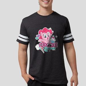 MLP Cupcake Queen Mens Football Shirt