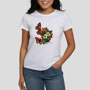 """""""Butterflies & Berries"""" Women's T-Shirt"""