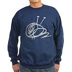 Crewneck (dark) Yarn Ball Sweatshirt
