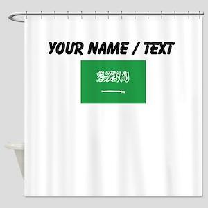 Custom Saudi Arabia Flag Shower Curtain