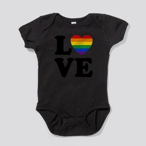 Gay Love Baby Bodysuit