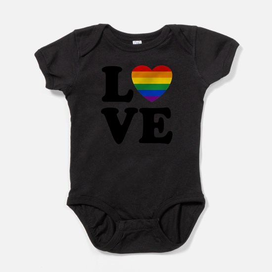 Gay Love Baby Bodysuit