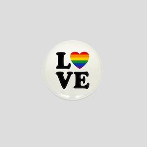 Gay Love Mini Button