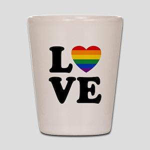 Gay Love Shot Glass