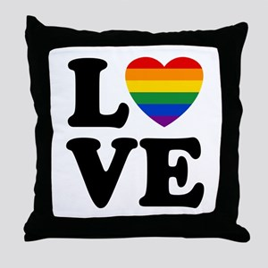 Gay Love Throw Pillow