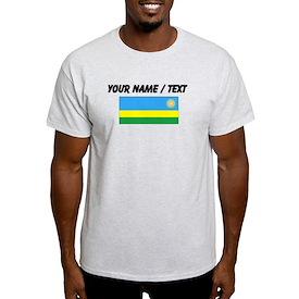 Custom Rwanda Flag T-Shirt