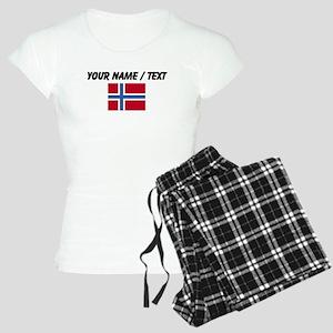 Custom Norway Flag Pajamas