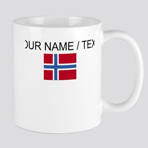 Custom Norway Flag Mug