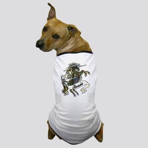 Bowie Tartan Unicorn Dog T-Shirt