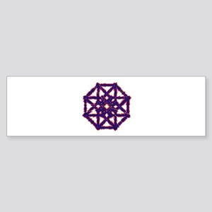 Tesseract Sticker (Bumper)