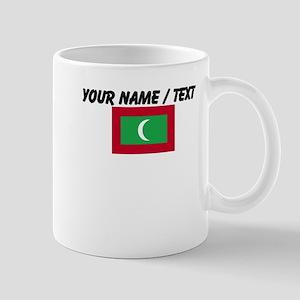 Custom Maldives Flag Mug