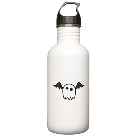 Ghost With Wings Sports Water Bottle