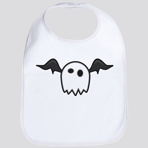 Ghost With Wings Bib
