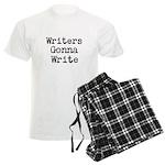 Writers Gonna Write Men's Light Pajamas