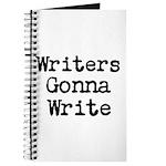 Writers Gonna Write Journal