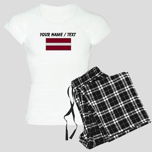 Custom Latvia Flag Pajamas