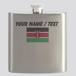 Custom Kenya Flag Flask