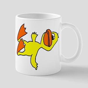 Funny Dead Duck Cartoon Mug