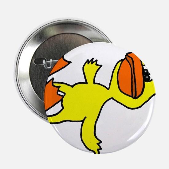 "Funny Dead Duck Cartoon 2.25"" Button"