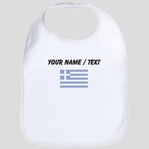 Custom Greece Flag Bib