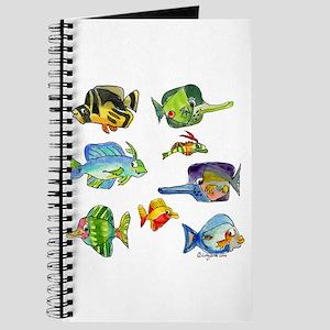 8 Cartoon Fish Journal