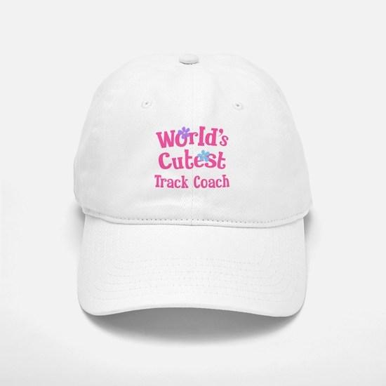 Worlds Cutest Track Coach Baseball Baseball Cap