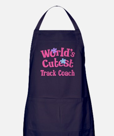 Worlds Cutest Track Coach Apron (dark)