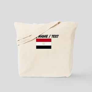 Custom Egypt Flag Tote Bag