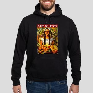 Vintage Mexico Fruit Travel Hoodie