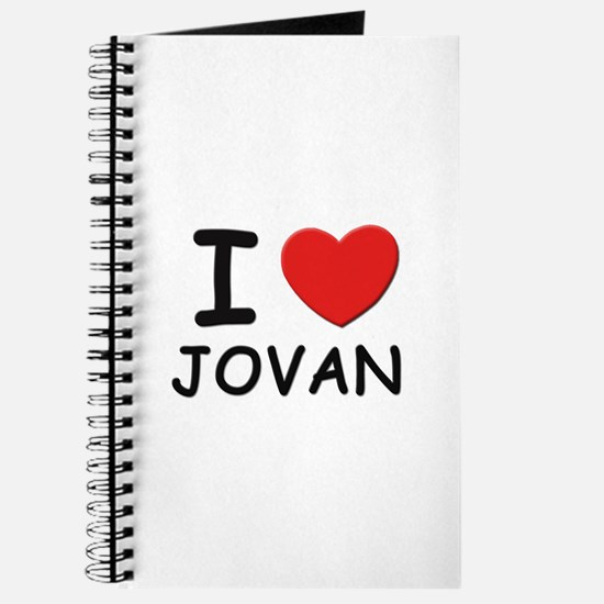 I love Jovan Journal