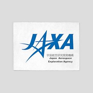 JAXA Logo 5'x7'Area Rug